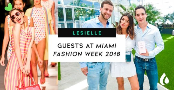 Lesielle presents its new device at Miami Fashion Week 2018
