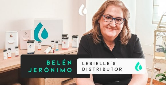 "Belén Jerónimo: ""I'm always looking for innovations. Now, Lesielle has entered our lives."""