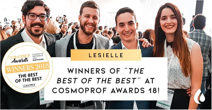 Lesielle wins the Cosmoprof International Beauty Awards